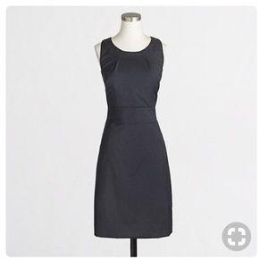 J. Crew Factory • Lightweight Wool Shift Dress